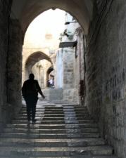 In Jerusalem's Christian Quarter